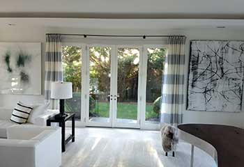 Motorized Blinds for French Door | Costa Mesa | Newport Beach Blinds & Shades