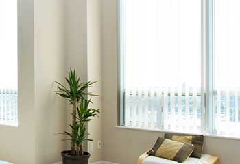Vertical Blinds Project | Newport Beach Blinds & Shades